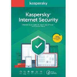 Kaspersky Lab Internet Security 2020 1 licence 1 dispotif 1 année Néerlandais photo du produit