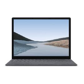 "Microsoft Surface Laptop 3 Platine Ordinateur portable 34,3 cm (13.5"") 2256 x 1504 pixels Écran tactile 10e génération de processeurs Intel® Core™ i5 8 Go LPDDR4x-SDRAM 256 Go SSD Windows 10 Pro photo du produit"
