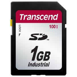 Transcend 1GB SD100I mémoire flash 1 Go SD SLC photo du produit