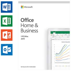 Microsoft Office 2019 Home and Business Néerlandais photo du produit