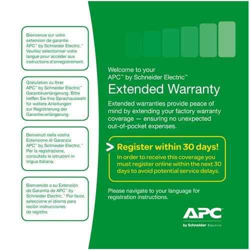 APC Service Pack 3 Year Extended Warranty photo du produit