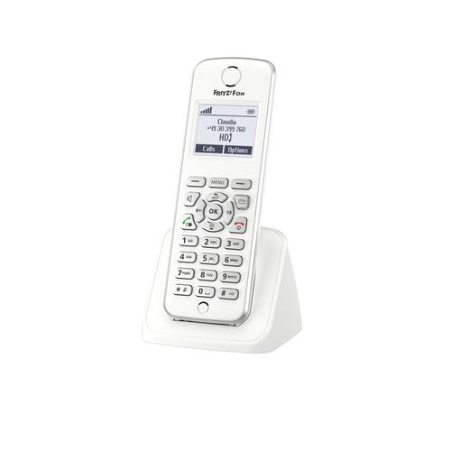 AVM FRITZ!Fon M2 International Téléphone DECT Blanc Identification de l'appelant photo du produit