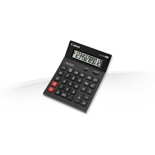 Canon AS-2200 calculatrice Bureau Calculatrice à écran Noir photo du produit