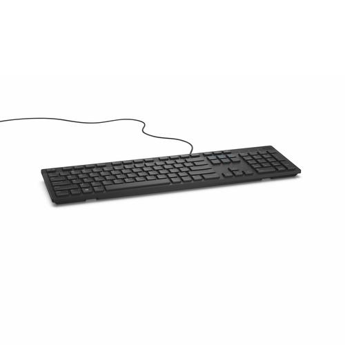 DELL KB216 clavier USB QWERTY US International Noir photo du produit