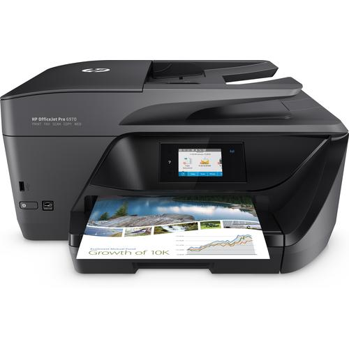 HP OfficeJet Pro 6970 A jet d'encre thermique 20 ppm 600 x 1200 DPI A4 Wifi photo du produit