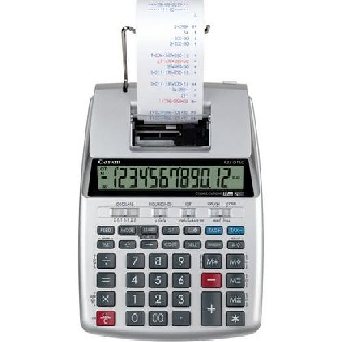 Canon P23-DTSC calculatrice Bureau Calculatrice imprimante Argent photo du produit