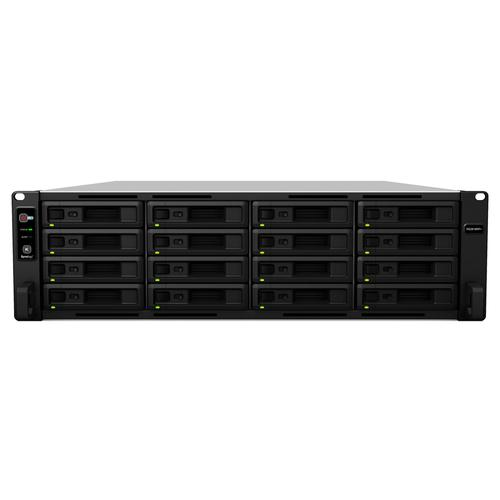 Synology RackStation RS2818RP+ serveur de stockage C3538 Ethernet/LAN Rack (3 U) Noir NAS photo du produit