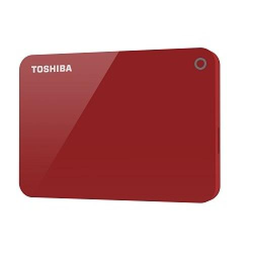 Toshiba Canvio Advance disque dur externe 2000 Go Rouge photo du produit
