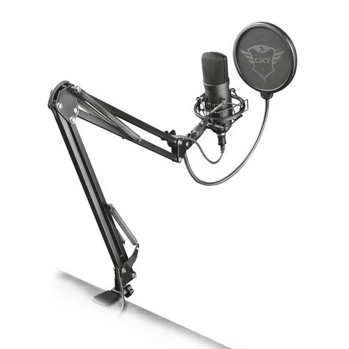 Trust GXT 252+ Emita Plus Microphone de studio Noir photo du produit