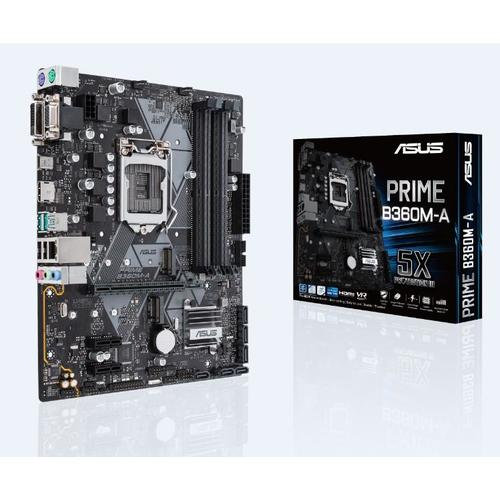 ASUS PRIME B360M-A carte mère LGA 1151 (Emplacement H4) Micro ATX Intel® B360 photo du produit