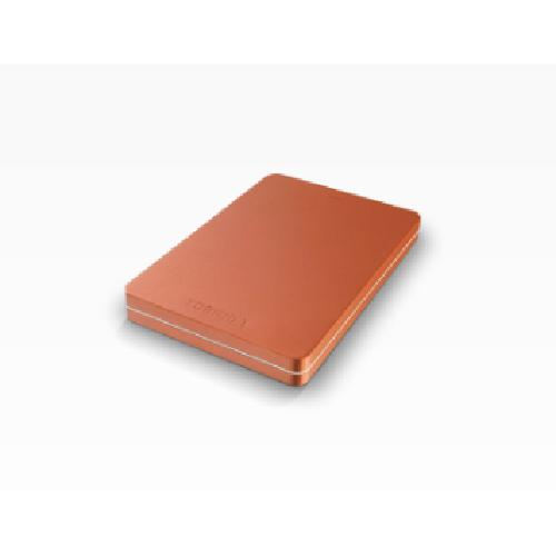 Toshiba Canvio Alu 1 TB disque dur externe 1000 Go Rouge photo du produit
