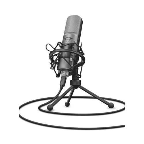 Trust GXT 242 Microphone de table Noir photo du produit