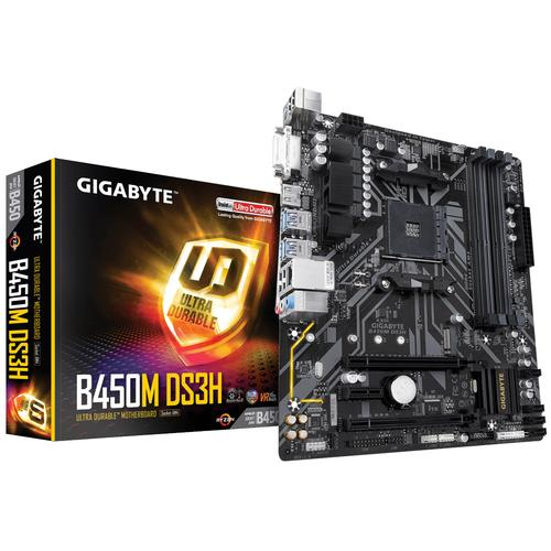 Gigabyte B450M DS3H carte mère Emplacement AM4 Micro ATX AMD B450 photo du produit