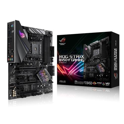 ASUS ROG STRIX B450-F GAMING carte mère Emplacement AM4 AMD B450 photo du produit