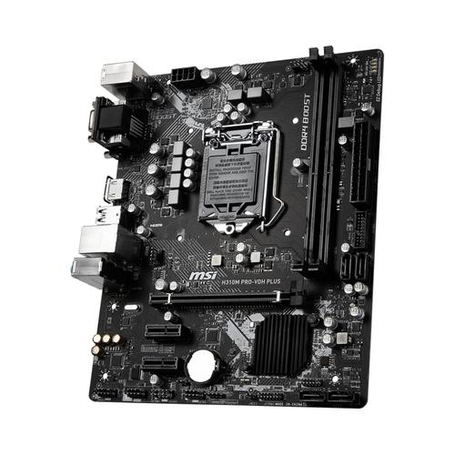MSI H310M PRO-VDH PLUS carte mère LGA 1151 (Emplacement H4) Micro ATX Intel® H310 photo du produit  L