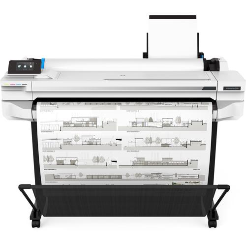 HP Designjet T530 imprimante grand format A jet d'encre thermique Couleur 2400 x 1200 DPI Ethernet/LAN Wifi photo du produit