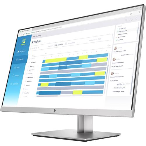 "HP EliteDisplay E273d LED display 68,6 cm (27"") 1920 x 1080 pixels Full HD Noir, Argent photo du produit  L"