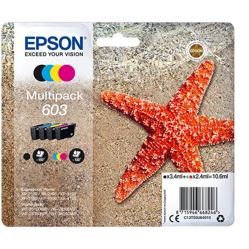 Epson Multipack 4-colours 603 Ink photo du produit