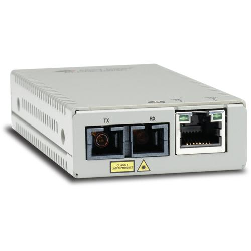 Allied Telesis AT-MMC200/SC-960 convertisseur de support réseau 100 Mbit/s 1310 nm Multimode Gris photo du produit