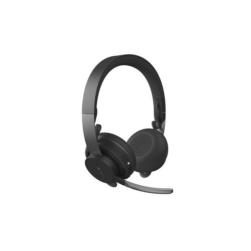 Logitech MSFT Teams Zone Wireless Casque Arceau Bluetooth Graphite photo du produit