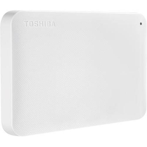 Toshiba Canvio Ready 1TB disque dur externe 1000 Go Blanc photo du produit