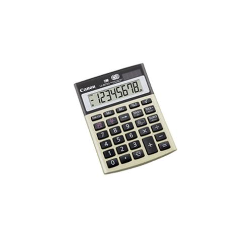 Canon LS-80TEG calculatrice Bureau Calculatrice financière Or, Gris photo du produit