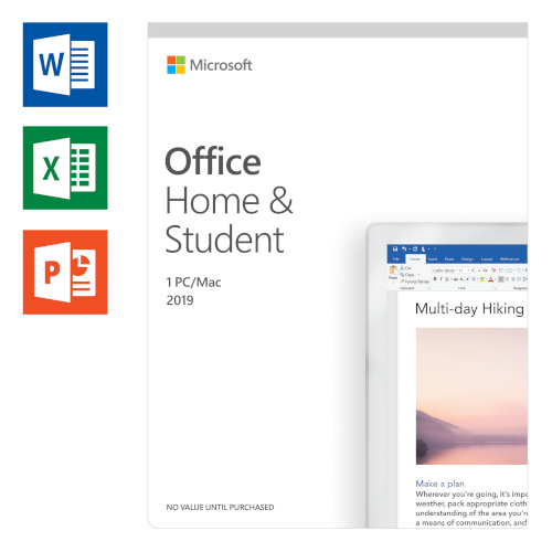 Microsoft Office 2019 Home and Student Anglais photo du produit