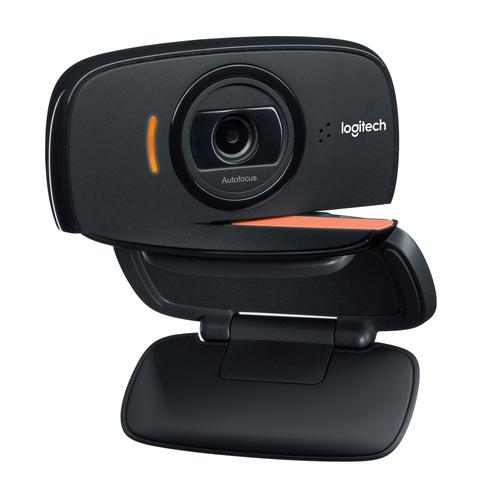 Logitech B525 HD webcam 2 MP 1280 x 720 Pixels USB 2.0 Zwart productfoto