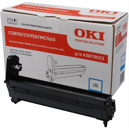 OKI Cyan image drum for C5850/5950 Origineel productfoto
