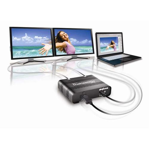 Matrox DualHead2Go Digital SE DisplayPort 2x DVI-D productfoto