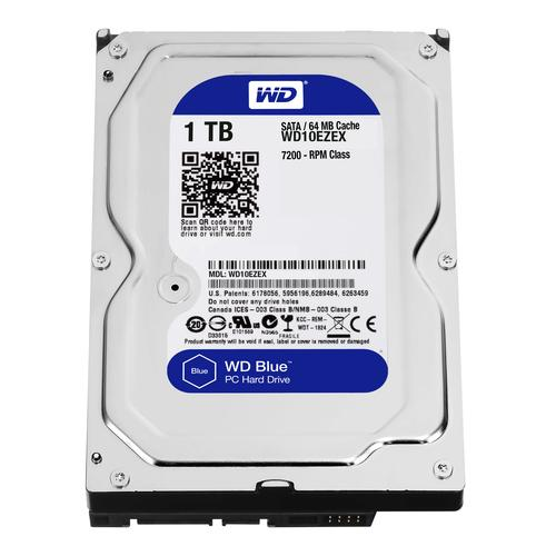 "Western Digital Blue 3.5"" 1000 GB SATA III productfoto"