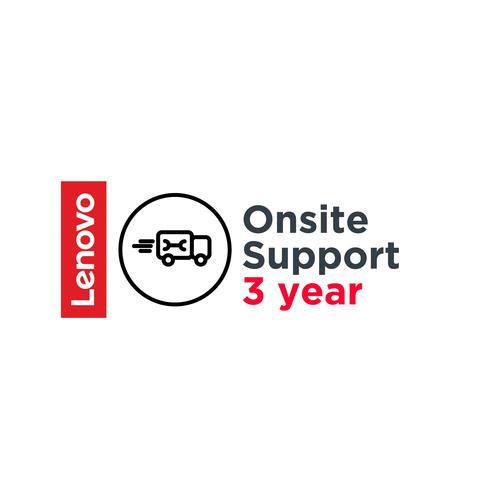 Lenovo 3 Year Onsite Support (Add-On) productfoto