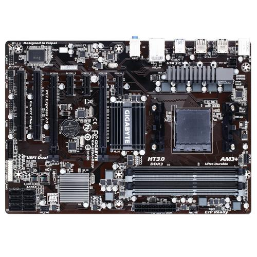 Gigabyte GA-970A-DS3P moederbord Socket AM3+ ATX AMD 970 productfoto