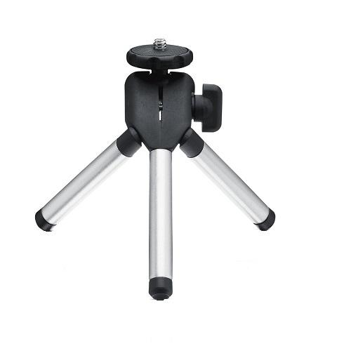 DELL 725-BBBM tripod Dataprojector 3 poot/poten Zwart, Zilver productfoto