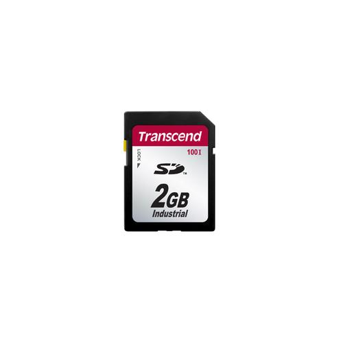 Transcend 2GB SD100I flashgeheugen SD SLC productfoto
