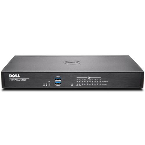 SonicWall TZ600 firewall (hardware) 1500 Mbit/s high availability productfoto