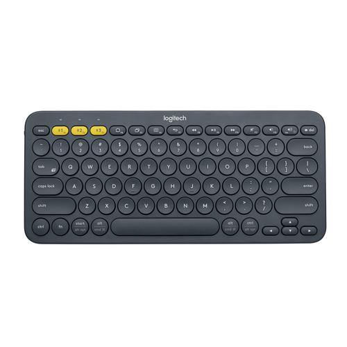 Logitech K380 toetsenbord Bluetooth QWERTY US International Grijs productfoto