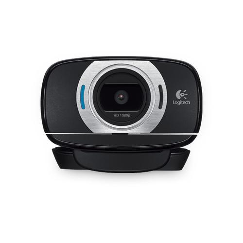 Logitech C615 webcam 8 MP 1920 x 1080 Pixels USB 2.0 Zwart productfoto