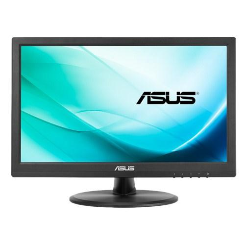 "ASUS VT168N point touch monitor touch screen-monitor 39,6 cm (15.6"") 1366 x 768 Pixels Zwart Multi-touch productfoto"