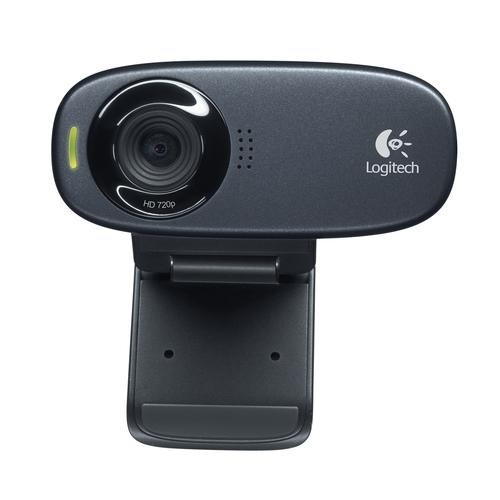 Logitech C310 webcam 5 MP 1280 x 720 Pixels USB Zwart productfoto