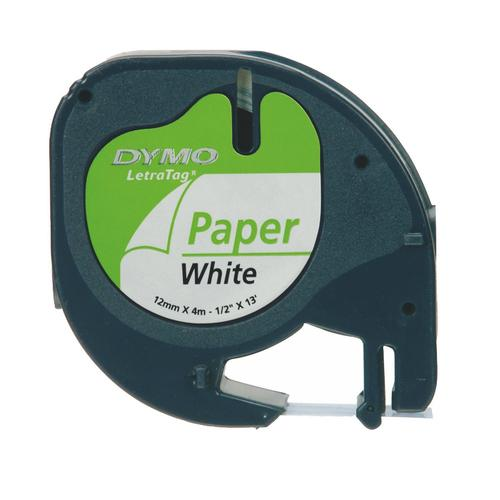 DYMO S0721510 labelprinter-tape Zwart op wit productfoto