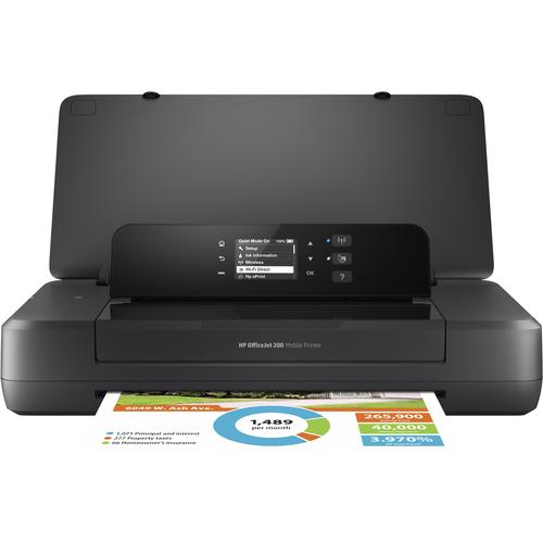 HP Officejet 200 Mobile inkjetprinter Kleur 4800 x 1200 DPI A4 Wi-Fi productfoto
