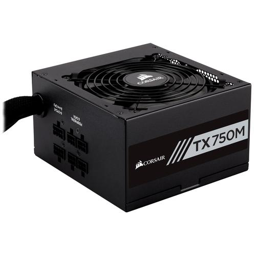 Corsair TX750M power supply unit 750 W ATX Zwart productfoto