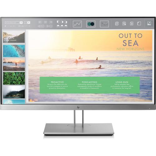 "HP EliteDisplay E233 LED display 58,4 cm (23"") 1920 x 1080 Pixels Full HD Flat Zwart, Zilver productfoto"