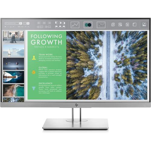 "HP EliteDisplay E243 LED display 60,5 cm (23.8"") 1920 x 1080 Pixels Full HD Flat Zwart, Zilver productfoto"