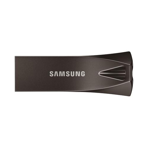 Samsung BAR Plus 128 GB USB Type-A 3.0 (3.1 Gen 1) Grijs, Titanium productfoto