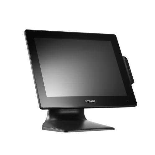 "Posbank POSMO III touch screen-monitor 38,1 cm (15"") 1024 x 768 Pixels Zwart productfoto"