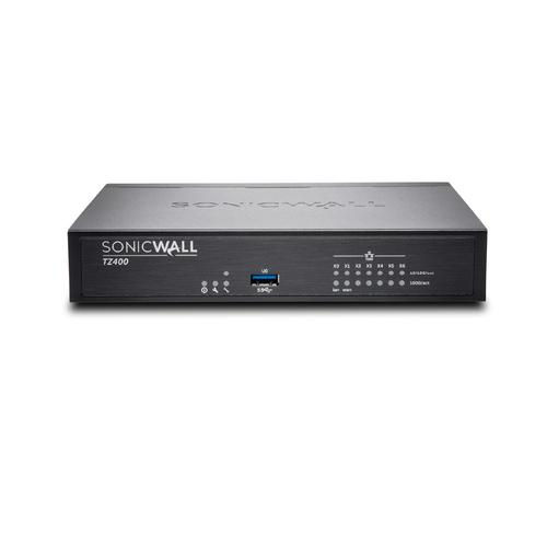 SonicWall TZ400 firewall (hardware) 1300 Mbit/s productfoto