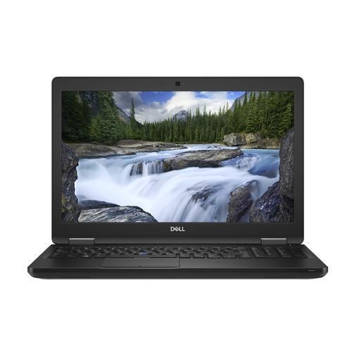"DELL Latitude 5590 Zwart Notebook 39,6 cm (15.6"") 1920 x 1080 Pixels Intel® 8ste generatie Core™ i5 i5-8350U 8 GB DDR4-SDRAM 256 GB SSD productfoto"