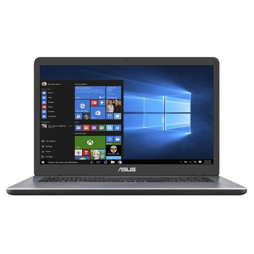 "ASUS A705UA-BX319T-BE Grijs Notebook 43,9 cm (17.3"") 1600 x 900 Pixels Intel® Pentium® 4405U 8 GB DDR4-SDRAM 256 GB SSD productfoto"